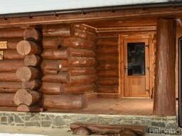 Строительство бань, саун различного типа и сложности.
