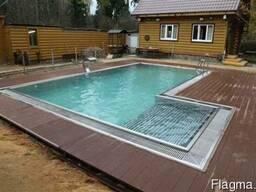 Строительство бассейнов из нержавеющей стали.