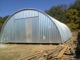 Строительство бескаркасных зернохранилищ/овощехранилищ