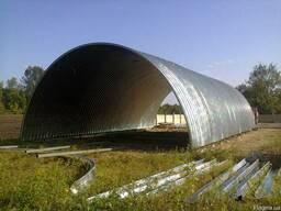 Строительство бескаркасных животноводческих комплексов