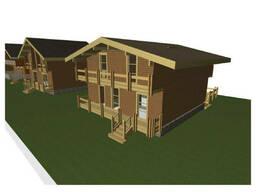 Строительство деревянных домов для базы отдыха