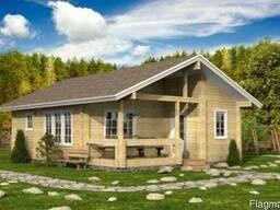Строительство дома из профилированного бруса 7х10 м