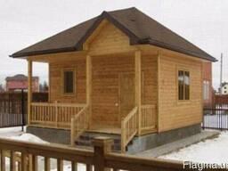 Строительство бань,домов,дач с дерева под ключ