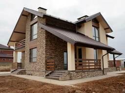 Строительство домов, дач, коттеджей под ключ или под отделку