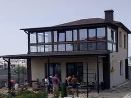 Строительство домов из ракушечника или газобетона под ключ