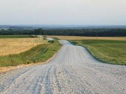 Отсыпка дорог щебнем, асфальтной крошкой