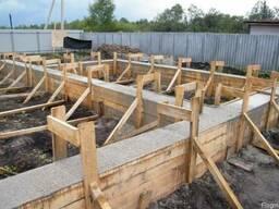 Строительство фундаментов и цокольных этажей для загородных