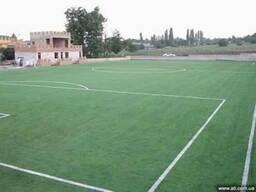 Строительство футбольных полей