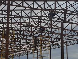 Строительство и реконструкция ангаров