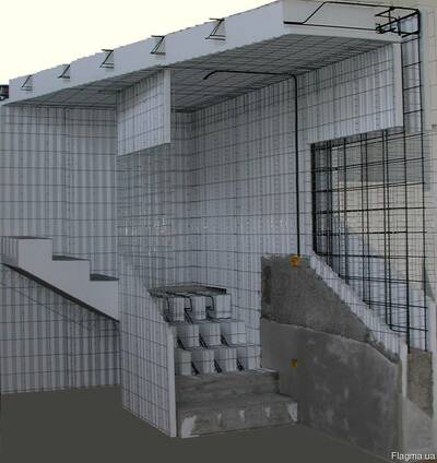 Строительство из панелей термомонолит.