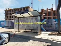 Строительство остановочных павильонов Одесса