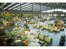 Строительство складов для готовой продукции из ЛСТК
