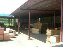 Строительство полузакрытых складов
