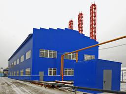 Строительство промышленных зданий под ключ