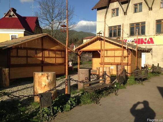 Строительство саун, бань, беседок и других МАФов из дерева