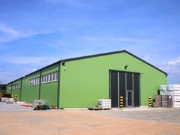 Строительство склада ангара фермы зернохранилища, комплекса