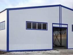 Строительство склада, ангара, зернохранилищ