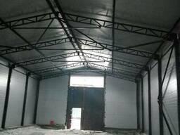 Строительство складов под ключ ( ангар, теплица, бмз склад)