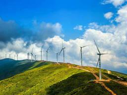Строительство солнечных и ветряных электростанций. ..
