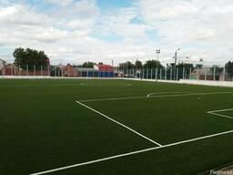 Строительство теннисных кортов и футбольных полей