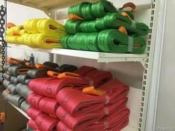 Строп текстильный петлевой (чалка) СТП 16 тонн 1-20 метров