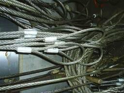 Строп канатный петлевой СКП (УСК) втулка\заплетка 12,5 тонн