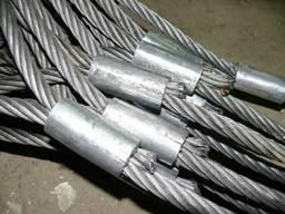 Строп канатный петлевой СКП (УСК) втулка\заплетка 3,2