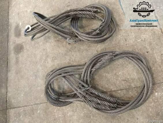 Стропы канатные СКП (УСК1) 10т 1-20м