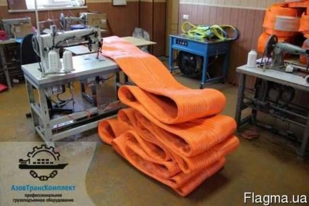 Стропы плоские текстильные с петлями 6т 2-20м