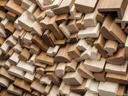 Стругання пиломатеріалів і дерев'яних заготовок, погонаж