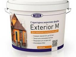 Структурная фасадная краска Mixon Exterior-M, 10 л