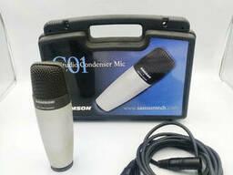 Студийный конденсаторный кардиоидный микрофон Samson C01 - Б/У