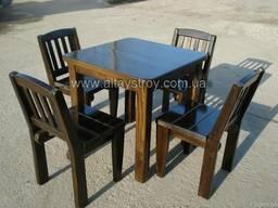 Стулья деревянные в кафе, бары, сауны