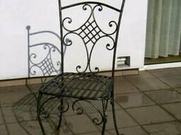 Стулья,кованые стулья