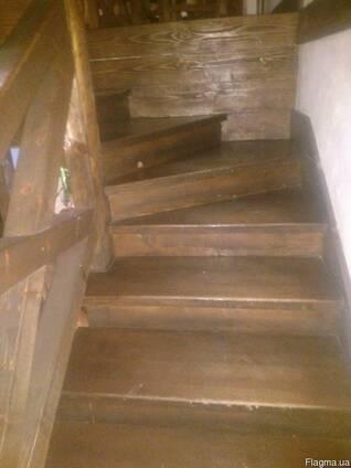 Ступени деревянные из массива дерева. Деревянные ступени под