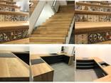 Ступени для лестницы - материал Дуб Ясень Бук Береза - фото 7