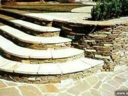 Ступени, ступени для лестниц из камня, плитка для ступеней