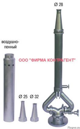 Ствол пожарный комбинированный стационарный СПК-С20