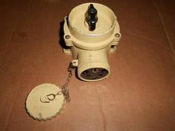 Судовая розетка штепсельная с выключателем РШВ2-42