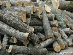 Сухие дрова твёрдых пород Дуб, Клен, Ясен в брёвнах 1 м Умань