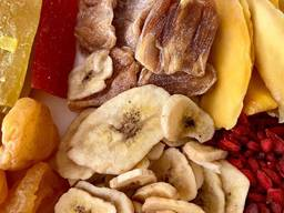 Сухофрукт финики манго курага инжир чернослив кумкват банан изюм