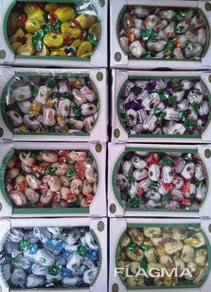 Сухофрукты в шоколаде. Шоколадные конфеты. Упаковка-1 кг