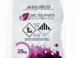 Удобрение сульфат цинка кристалический семиводный