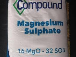 Сульфат магния семиводный MG16%S32% 25кг Словения
