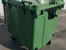 SULO пластиковий контейнер для сміття 1100 л. кришка в кришці