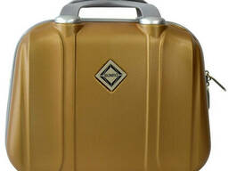 Сумка кейс саквояж Bonro Smile (великий) золотий (gold 6502)