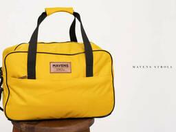 Сумка «Mavens Stroll» для ручной клади в самолет Wizz Air, Ryanair, дорожная сумка, Желтый