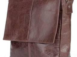 Сумка мессенджер коричневый Shvigel SHVGL00795