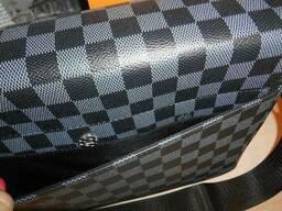 Сумка мужская Louis Vuitton кожа, Франция - фото 7
