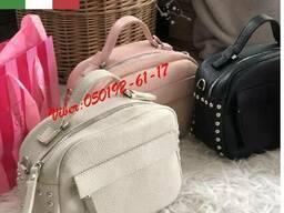 Сумка Натуральная кожа Кросс боди Италия , кожаные сумки